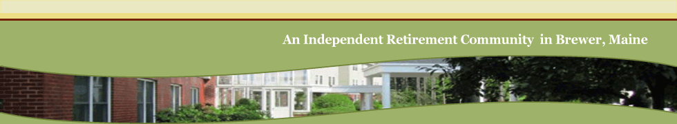 Independent retirement community in Brewer, Maine